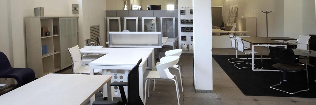 Show-room di mobili per ufficio a Rimini