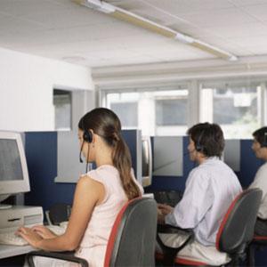 Scrivania ufficio - call center