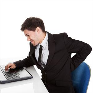 Seduta per ufficio - male alla schiena